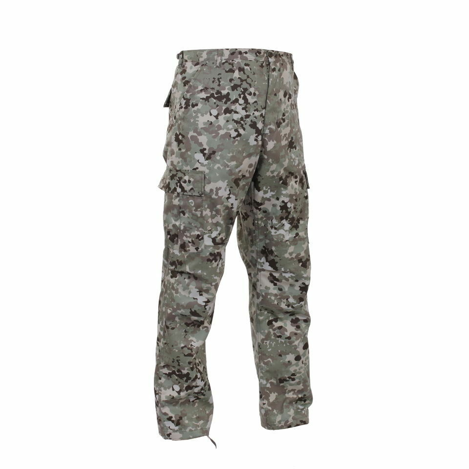 Total Terrain Camo Military BDU Cargo Fatigue Pants 95471 redhco