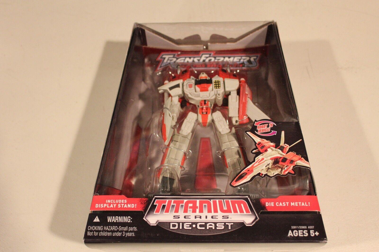 Hasbro Titanium Series Die-cast Transformers Jetfire