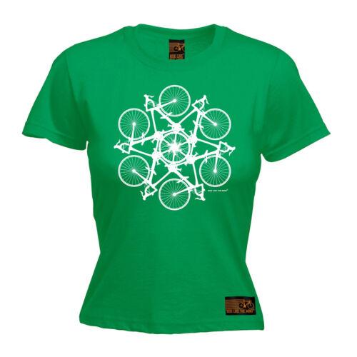 Kaleidospoke WOMENS RLTW T-SHIRT tee cycling cycle bicycle birthday gift present