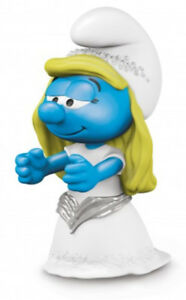Bride-Smurfette-Plastic-Figurine-20799-FROM-OCCASIONS-SMURF-SET