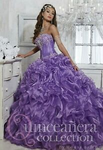NWT-Size-12-Ball-gown-PROM-dress-Violet-Quinceanera-Collection-26727-formal