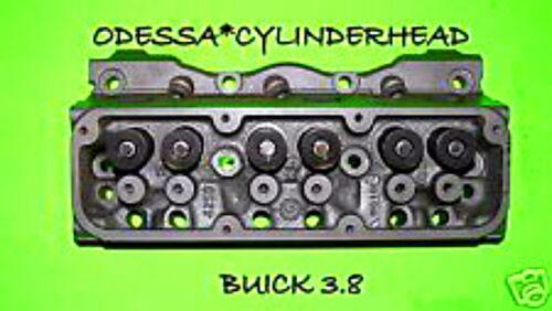 GM BUICK PONTIAC OLDS 3.8 OHV CYLINDER HEAD 1980-2006