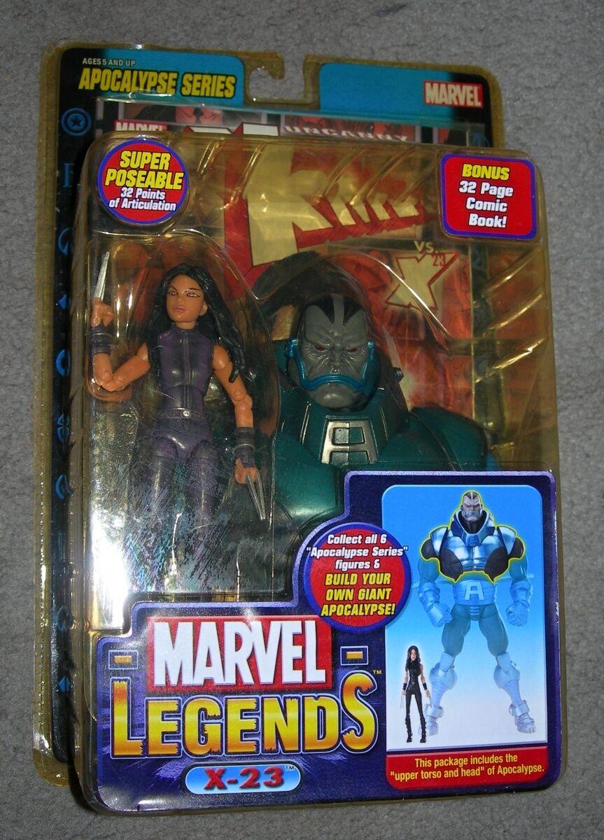 Marvel - legenden (2005) apokalypse baf - serie x-23 lila