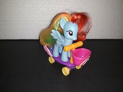 Attent My Little Pony Mon Poney Mein Kleines Pony G4 Riding Along Rainbow Dash