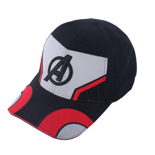 Avengers 4 Endgame Cosplay Hat Quantum Realm Embroidery Baseball Advanced Cap