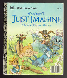 Image Is Loading Little Golden Book Just Imagine A About