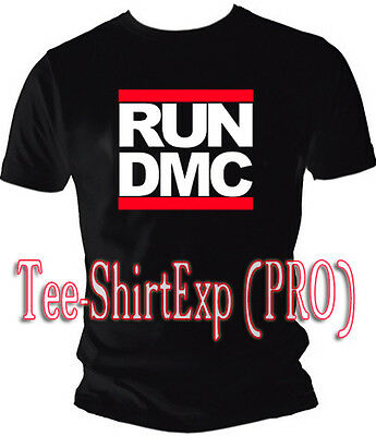 T-shirt Rap Hip Hop Run Dmc - Tee Shirt East Coast Run Dmc Def Jam- S Au Xxl