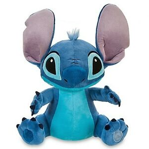NWT-Disney-Store-Medium-Lilo-Stitch-Blue-Alien-Plush-Soft-Toy-16-EXP-626
