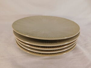 Image is loading COLIN-COWIE-LOTUS-LEAF-SALAD-PLATES-FOR-JC- & COLIN COWIE LOTUS LEAF SALAD PLATES FOR JC PENNEY HOME COLLECTION ...