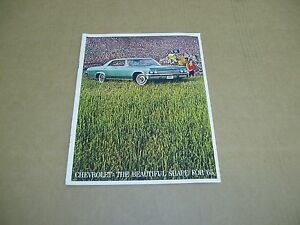1965 Chevrolet Impala SS Bel Air Biscayne wagon sales brochure catalog DELUXE