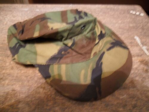 ARMY ISSUE CRAP CAP CAMMO  GREEN