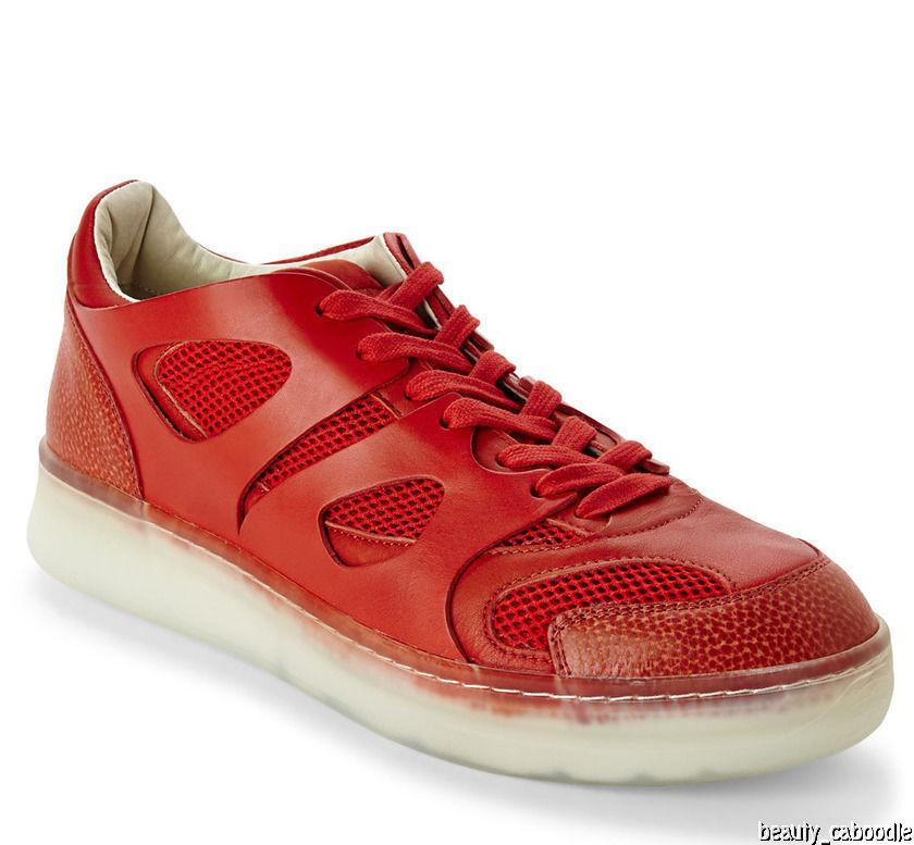 NEW ALEXANDER McQUEEN X PUMA Men's Red Move Lo Sneakers (Size 10 D) - MSRP  295