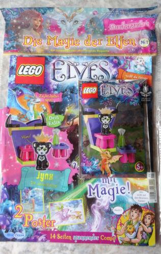 Hidee Mr Magazin LEGO ELVES mit Minifigur AUSWÄHLEN Enki Spry Miku Flamy