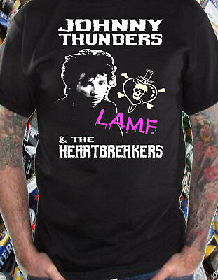 NEW /& OFFICIAL! Johnny Thunders /& The Heartbreakers /'Pistol/' T-Shirt