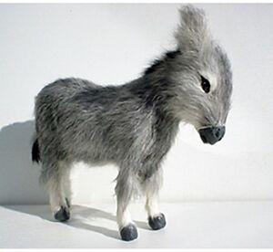 Esel Krippentier Krippenfigur Felltier Felltiere 17 Cm Hoch & 19 Cm Lang Schrecklicher Wert Welt Der Tiere
