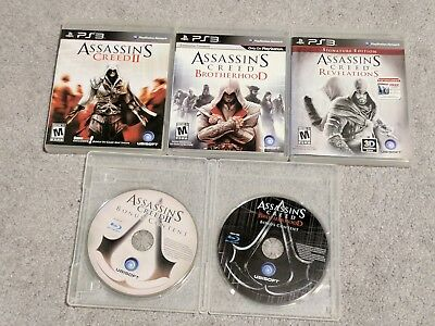 Ezio Trilogy Assassin S Creed I Ii Brotherhood Revelations