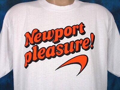 Vintage New Port Blue T-Shirt s.XL