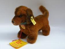 STEIFF original vintage ALL LABELS Hexie 4142/12 dachshund bassotto Dackel