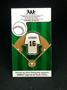 New York Mets Dwight Gooden jersey lapel pin-Classic Collectable-1986 CHAMPION!