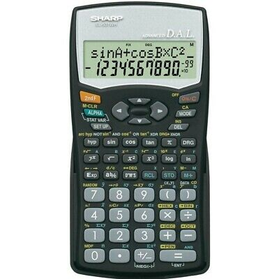 Sharp EL-531WHBK Scientific Calculator