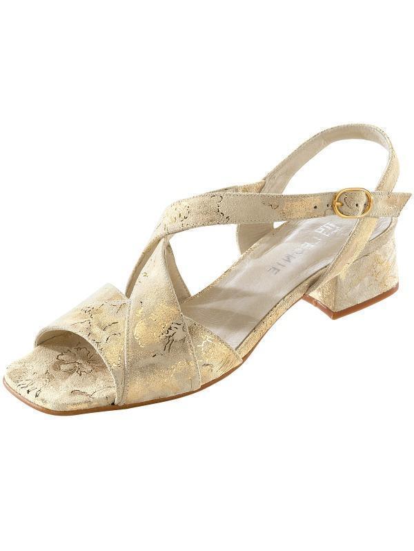 Scarpe scarpe da donna sandali sandalo in 37 pelle qualità Leonie Taglia 37 in (4) Larghezza F a78285
