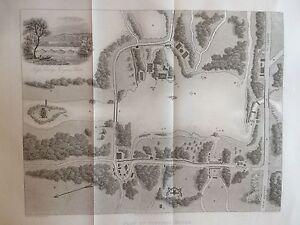 1842-Antique-Map-of-Virginia-Water-Windsor-Great-Park-Surrey