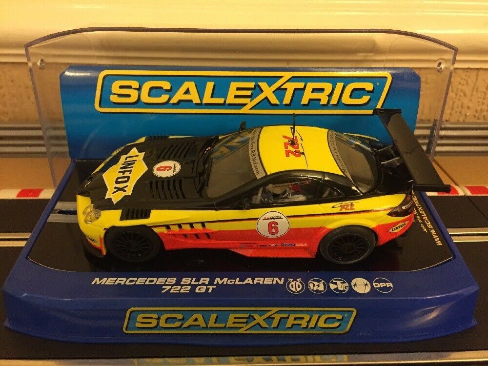 Scalextric Digital Mercedes SLR McLaren 722 GT Scalextric Club C3294 Brand New