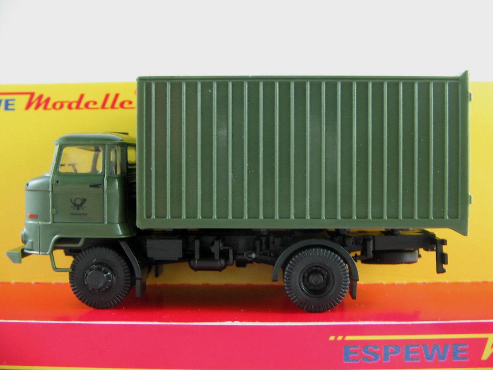 Busch Espewe 95528 IFA L60 ETK (1987)  Deutsche Post  in green 1 87 H0 NEU OVP