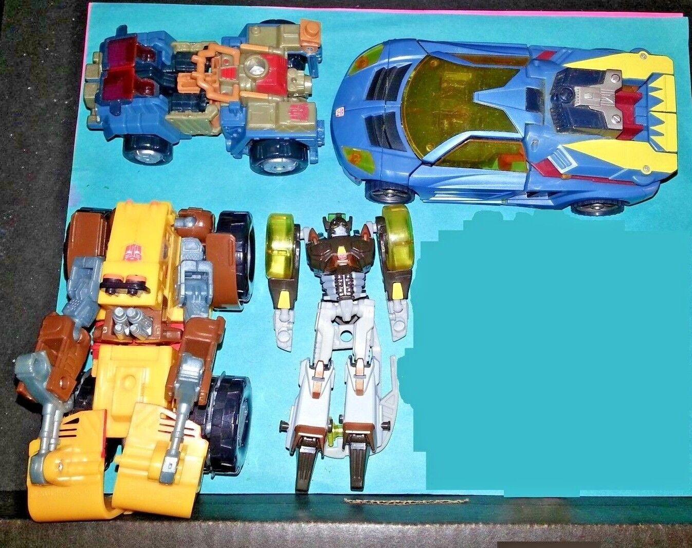 Transformers Cybertron   Energon lot HOTSHOT LANDMINE BRAKEDOWN STRONGARM
