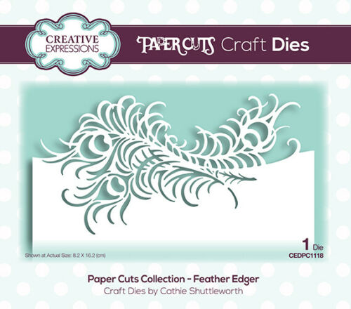 Cathie Shuttleworth PAPER CUTS 2020 EDGER COLLECTION Creative Expressions
