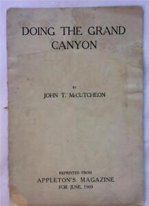 1909-DOING-THE-GRAND-CANYON-JOHN-T-MCCUTCHEON-APPLETON-BOOKLET-COLORADO