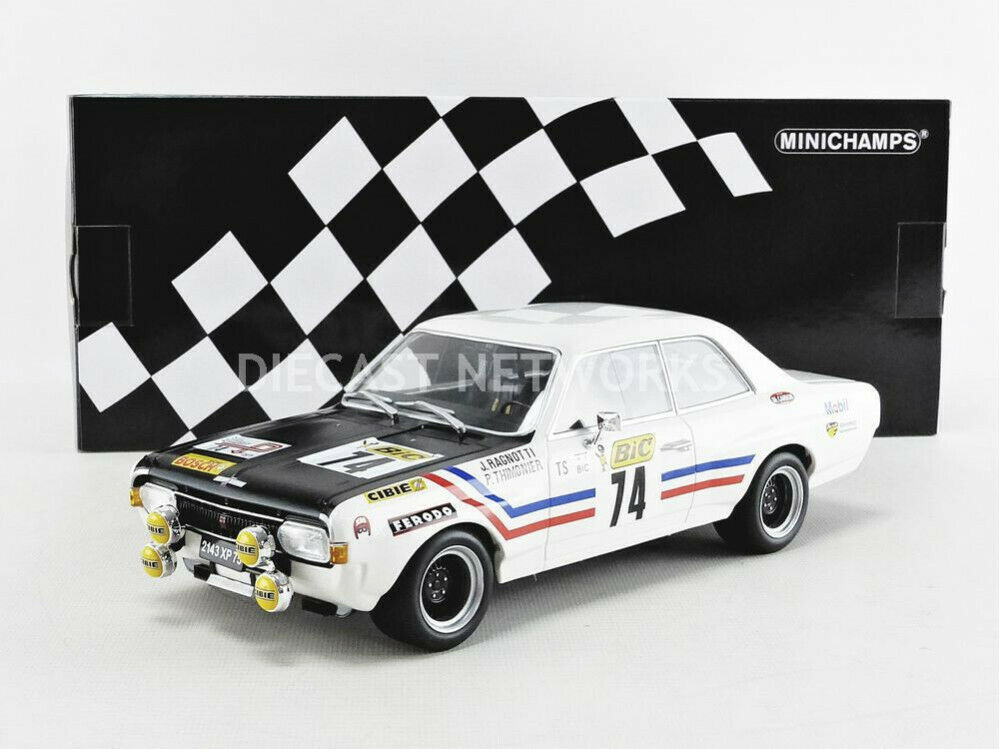 Minichamps Opel Commodore a Steinmetz Tour de France Auto 1971  18 Nuevo