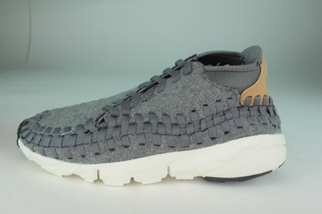 super popular 46c8a 1fdb2 NIKE AIR FOOTSCAPE WOVEN CHUKKA SPECIAL EDITION MEN SIZE 7.5 TO 12.0 NEW  GREY