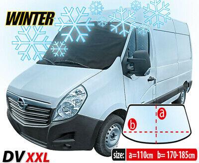 Car Van Front Windscreen Window Winter Frost Snow Ice Protector Cover
