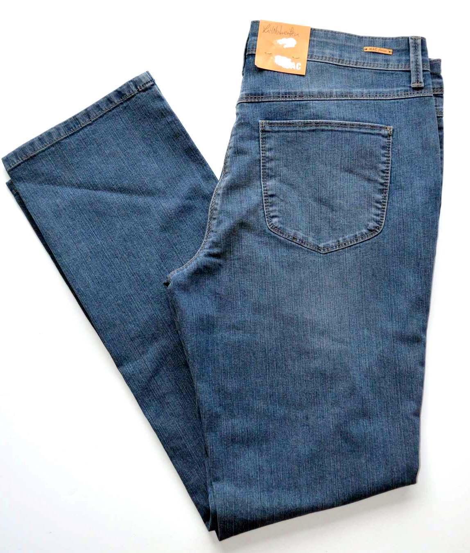 MAC Jeans ANGELA Blau Denim Stretch blau Slim Fit   NEU