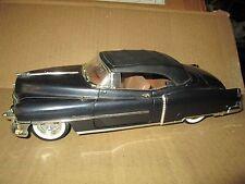 53 cadillac  1953 1/18 ansen convertible top up black display no mirror