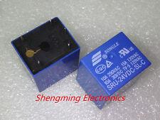10pcs 5pins 24V SRU-24VDC-SL-C 10A 250VAC/30VDC SONGLE Relay