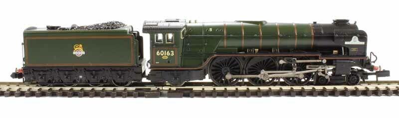 G Farish 372-800A Class A1 4-6-2 60163  Tornado  in BR verde E_Crest MINT Boxed