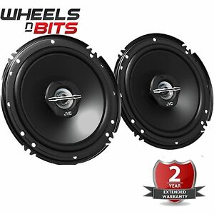 jvc cs j620x 6 5 inch 16 5 cm 600 watts pair 2 way coaxial car van door speaker ebay. Black Bedroom Furniture Sets. Home Design Ideas