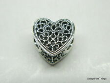 NEW! AUTHENTIC PANDORA CHARM FILLED WITH ROMANCE #791811
