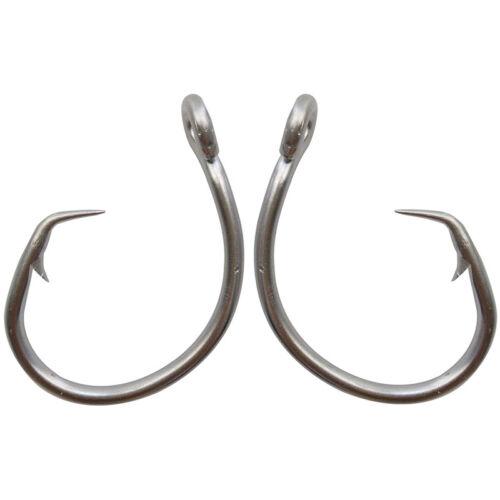 39960D Tuna Circle Fishing Hook Stainless Steel Big Game Saltwater Hook 8//0-28//0