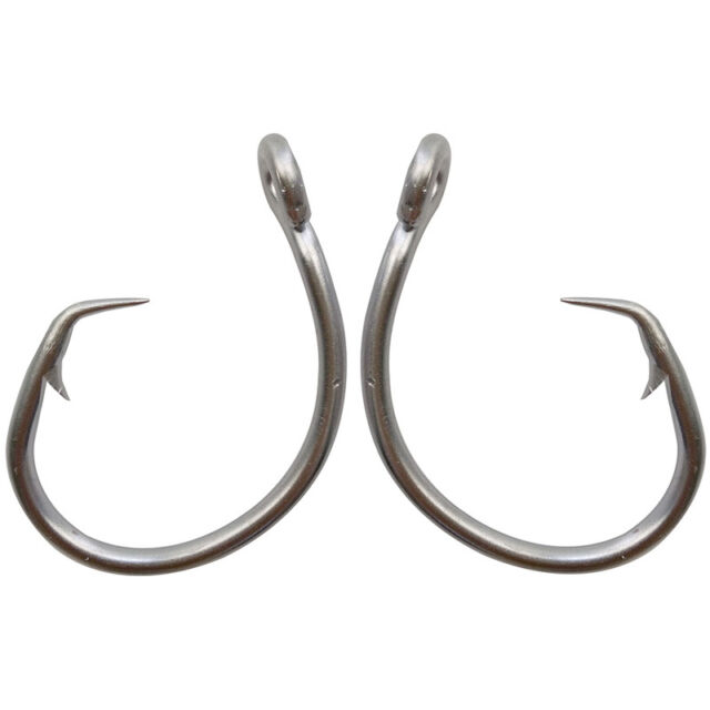 20pc Saltwater Fishing Hook JIGGING HOOK  Stainless Steel Hooks SJ43
