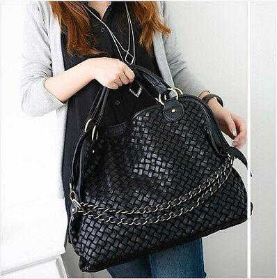 Korean style Lady Hobo PU leather handbag shoulder bag