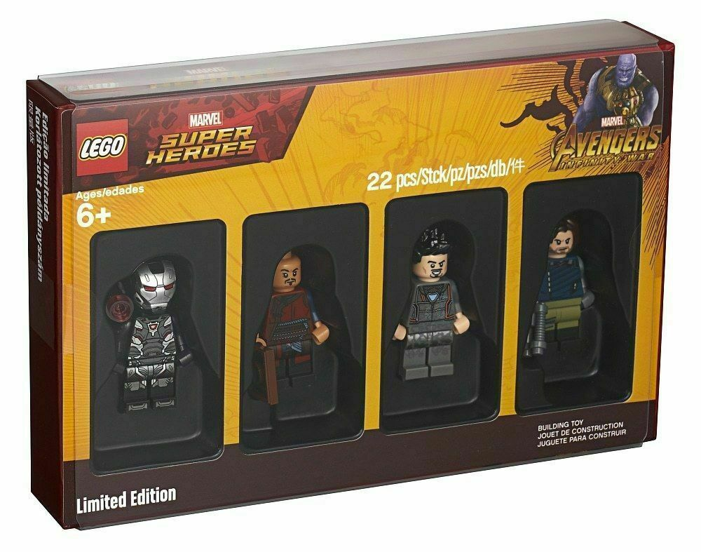 LEGO-5005256-Marvel  Super Heroes Minicifra Collection-nuovo in Sealed scatola   distribuzione globale