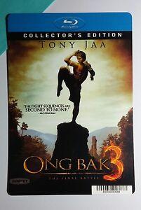 ONG-BAK-3-TONY-JAA-BLURAY-STYLE-COVER-ART-MINI-POSTER-BACKER-CARD-NOT-a-movie