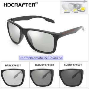 8ac454d3e13a Image is loading Men-039-s-Photochromic-Polarized-Sunglasses-HD-Transition-