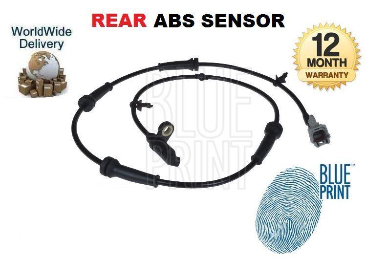 Für Nissan Xtrail 2007-2014 2.0dt 2.0i 2.5i Neu Hinten ABS Sensor