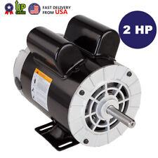 2 Hp Spl Compressor Duty Electric Motor 3450 Rpm 56 Frame 58 Shaft 120240v Aa