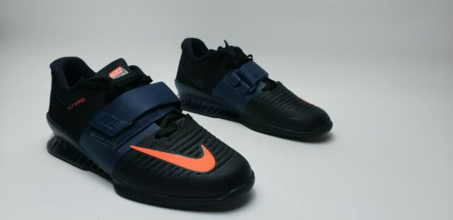 Nike Romaleos 3 Black Thunder Blue for