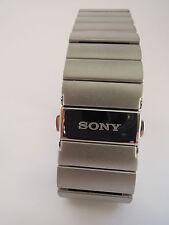 Sony SWR510 Metal Wrist Strap - Genuine Stainless Steel - for Smartwatch 3 SWR50